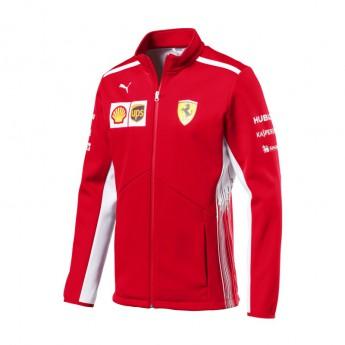 Kurtka męska Softshell czerwona Scuderia Ferrari F1 Team 2018