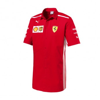Koszula męska czerwona Scuderia Ferrari F1 Team 2018