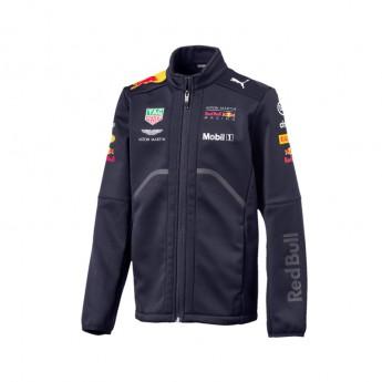 Kurtka dziecięca Softshell granatowa Red Bull Racing F1 Team 2018