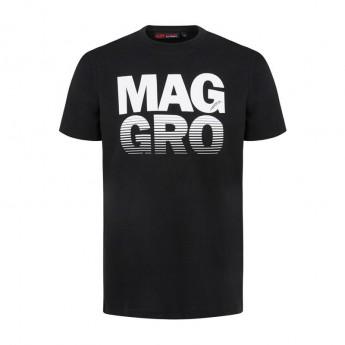 Koszulka T-shirt męska Drivers czarna Haas F1 Team 2018