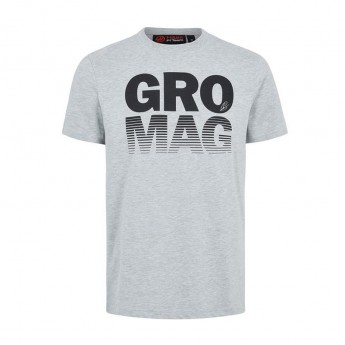 Koszulka T-shirt męska Drivers szara Haas F1 Team 2018