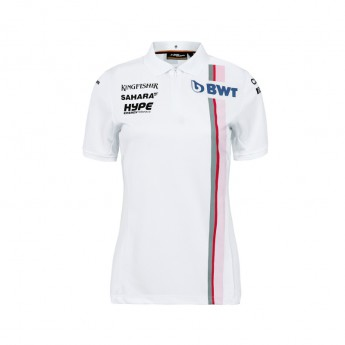 Koszulka Polo damska biała Sahara Force India F1 Team 2018