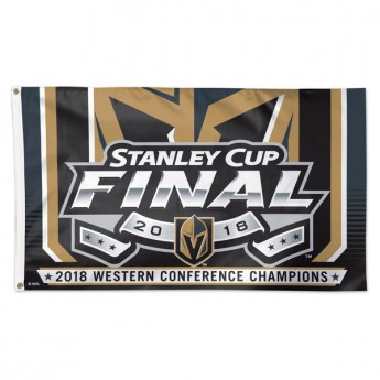 Vegas Golden Knights flaga 2018 Western Conference Champions On-Ice Flag