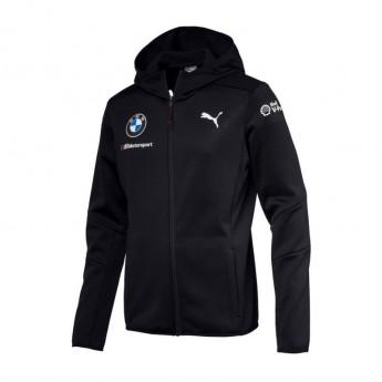 BMW Motorsport męska kurtka z kapturem blue Midlayer Team 2018