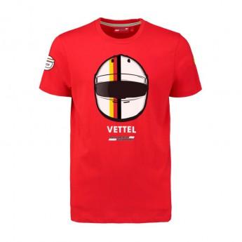 Koszulka T-shirt dziecięca Vettel Driver Scuderia Ferrari F1 Team 2018