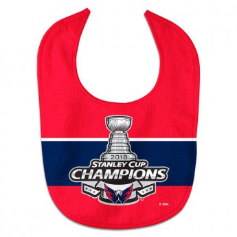 Washington Capitals śliniak 2018 Stanley Cup Champions All-Pro Baby Bib