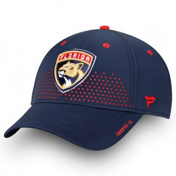 Florida Panthers czapka baseballówka blue 2018 NHL Draft Flex