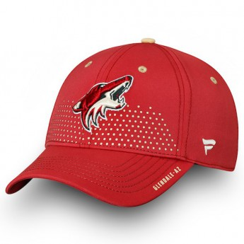 Arizona Coyotes czapka baseballówka red 2018 NHL Draft Flex