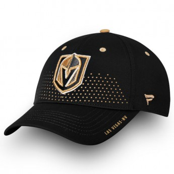Vegas Golden Knights czapka baseballówka black 2018 NHL Draft Flex
