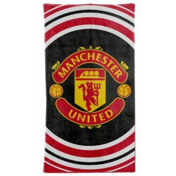 Manchester United ręcznik plażowy logo circles