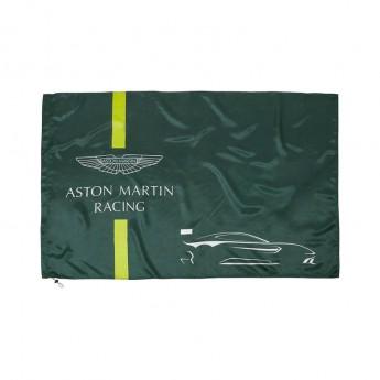 Aston Martin flaga green 2018