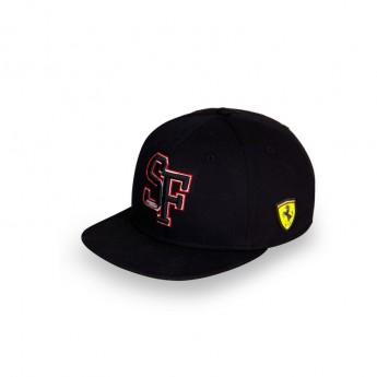 Ferrari czapka flat baseballówka Brim SF Black F1 Team 2018