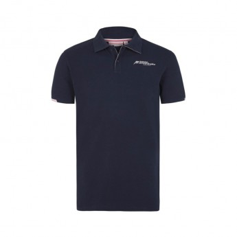 Foce India F1 męska koszulka polo navy Sahara F1 Team 2018