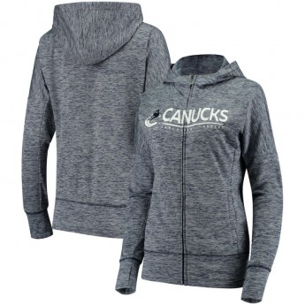Vancouver Canucks bluza damska grey Reciever Full-Zip Hoodie