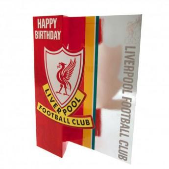 Liverpool życzenia urodzinowe Birthday Card