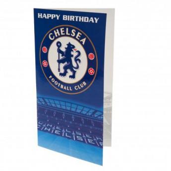 Chelsea życzenia urodzinowe Birthday Card