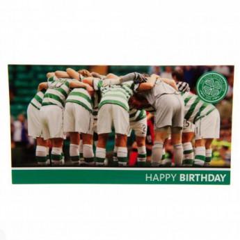FC Celtic życzenia urodzinowe Birthday Card Huddle