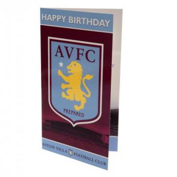 Aston Vila życzenia urodzinowe Birthday Card