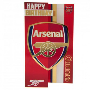 Arsenal życzenia urodzinowe Birthday Card