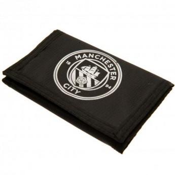 Manchester City portfel nylonowy black Nylon Wallet