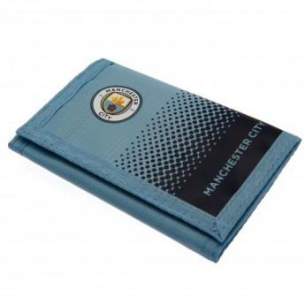Manchester City portfel nylonowy Nylon Wallet