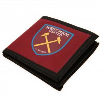 West Ham United portfel nylonowy Canvas Wallet