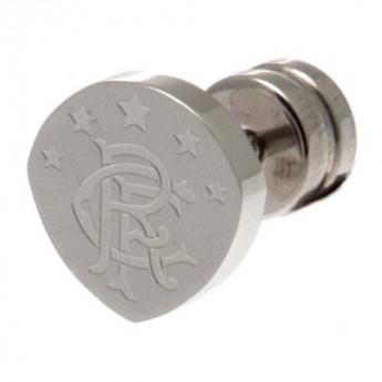 FC Rangers kolczyki Cut Out Stud Earring