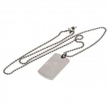 Sunderland naszyjnik z zawieszką Engraved Dog Tag & Chain