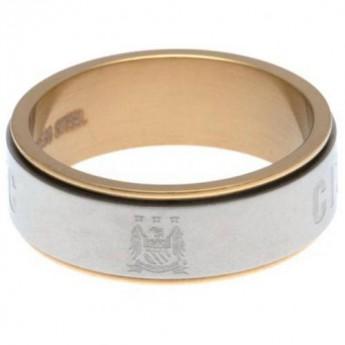 Manchester City pierścionek Bi Colour Spinner Ring Large EC