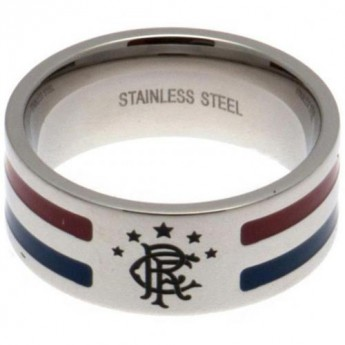 FC Rangers pierścionek Colour Stripe Ring Large