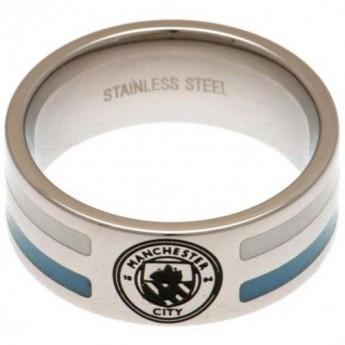 Manchester City pierścionek Colour Stripe Ring Small