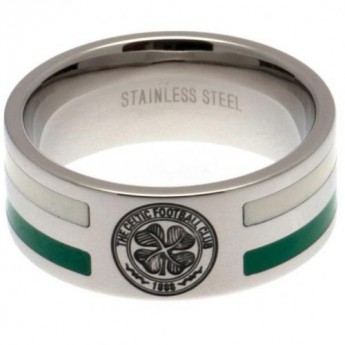FC Celtic pierścionek Colour Stripe Ring Medium