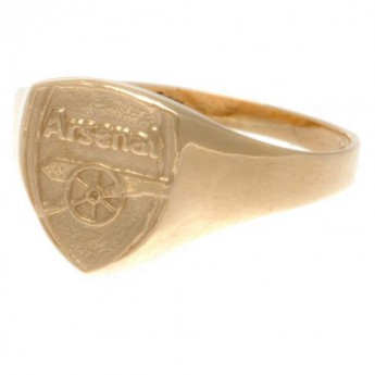Arsenal pierścionek 9ct Gold Crest Small