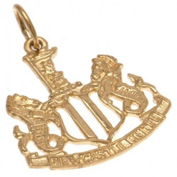 Newcastle United złoty brelok 9ct Gold Pendant