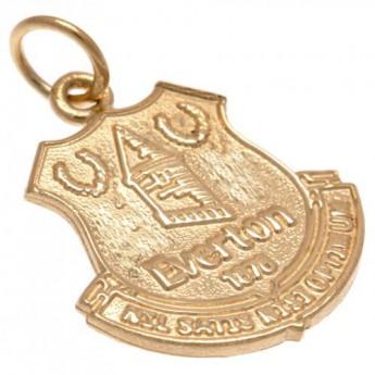 FC Everton złoty brelok 9ct Gold Pendant