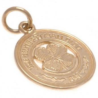 FC Celtic złoty brelok 9ct Gold Pendant