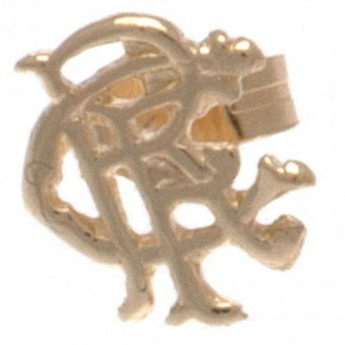 FC Rangers kolczyki 9ct Gold Earring