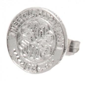 FC Celtic kolczyki Sterling Silver Stud Earring