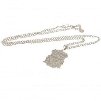 Liverpool naszyjnik z zawieszką Silver Plated Pendant & Chain XL
