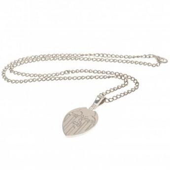 Valencia naszyjnik z zawieszką Silver Plated Pendant & Chain