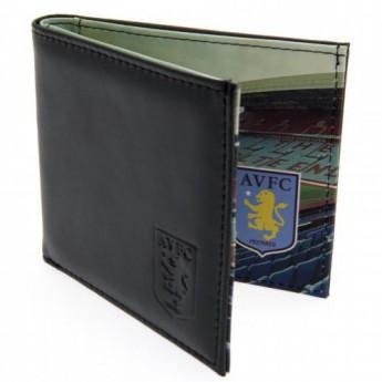 Aston Vila skórzany portfel Panoramic Wallet
