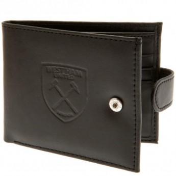 West Ham United skórzany portfel Anti Fraud Wallet