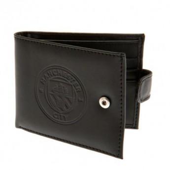 Manchester City skórzany portfel Anti Fraud Wallet