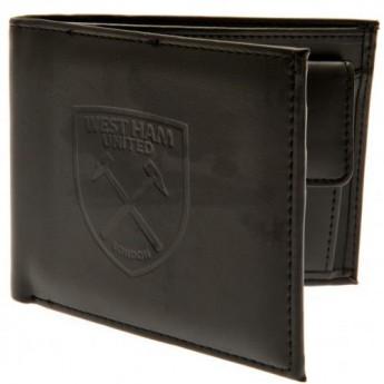 West Ham United portfel z ekoskóry Debossed Wallet
