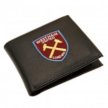 West Ham United portfel z ekoskóry Embroidered Wallet