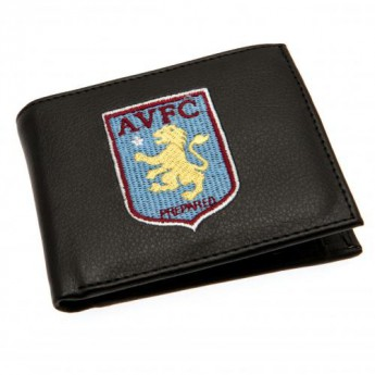 Aston Vila portfel z ekoskóry Embroidered Wallet