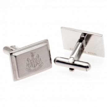 Newcastle United spinki mankietowe Stainless Steel Cufflinks