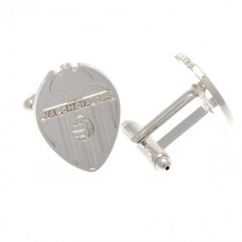 Valencia spinki mankietowe Silver Plated Cufflinks CR