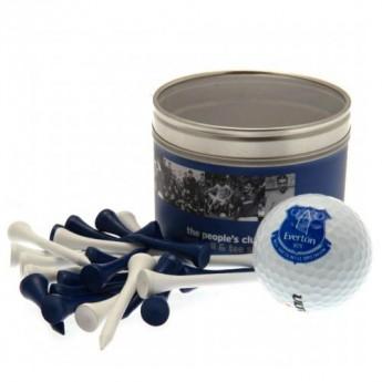 FC Everton zestaw do golfa Ball & Tee Set