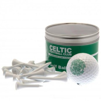FC Celtic zestaw do golfa Ball & Tee Set